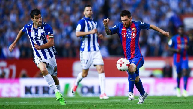 Messi enjoyed a magical season but his team-mates didn't.
