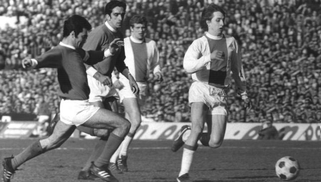 Despite possessing the talent of Johan Cryuff, Ajax were beaten by AC Milan.
