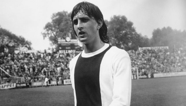 John Cruyff scored a brace for Ajax.