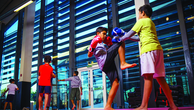 The camp also incorporates martial arts into its programme.