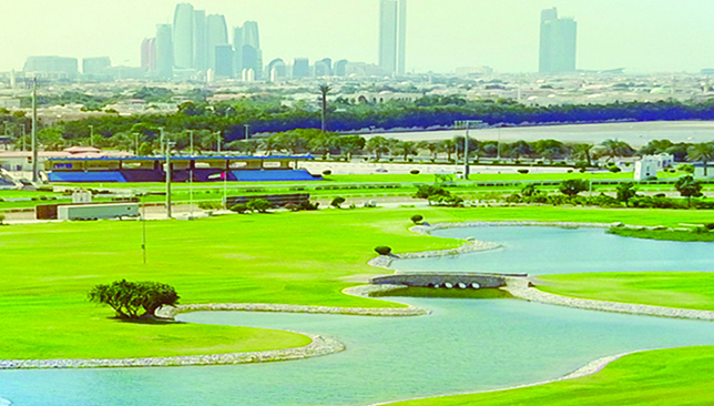 The golf course is a stunning place to enjoy 18 holes or a playing lesson.
