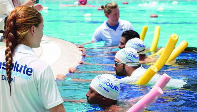 Absolute Swimming Academy have special programmes for adult swimmers.