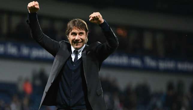 First season success: Conte has delivered.
