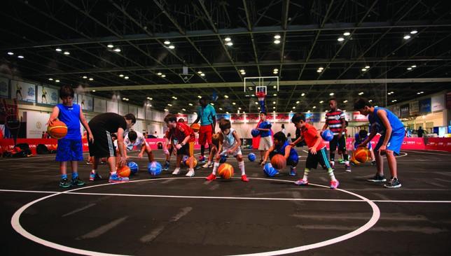 Various city-based academies are part of Dubai Sports World.