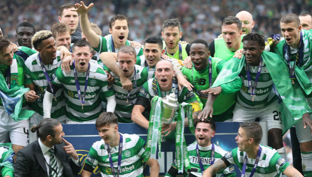 Celtic sink fearless Aberdeen in Scottish Cup final