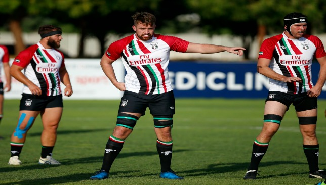 Dan Perry (c) insists the UAE can still win Division I