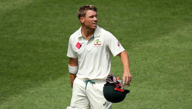 Not happy: Warner with Cricket Australia.