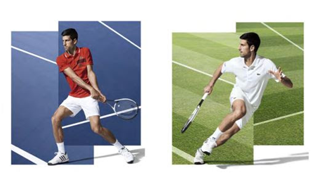 New deal: For Djokovic.