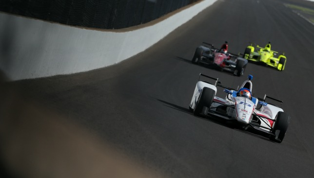 Fernando Alonso's Indy 500 ends with Honda engine failure