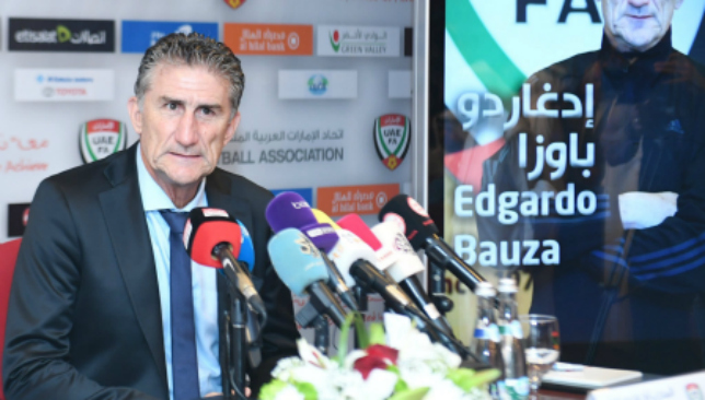 Argentine's Bauza contracted to coach UAE national football team
