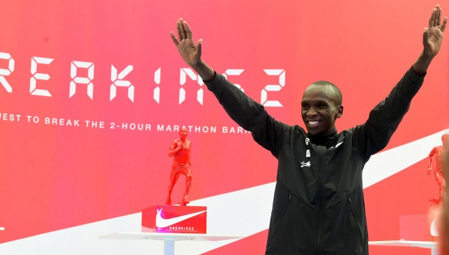 Eliud Kipchoge smashed the world marathon record in Berlin last September.