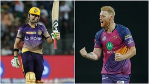 Gambhir and Stokes had outstanding seasons [Sportzpics]