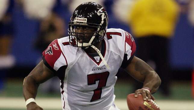 Madden legend: Michael Vick. Picture: Getty Images.
