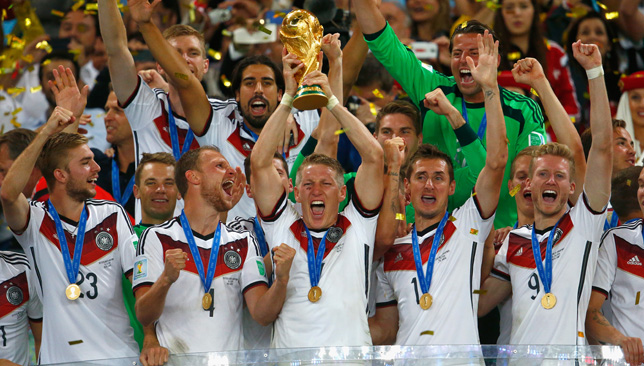 Germany win the 2014 World Cup.
