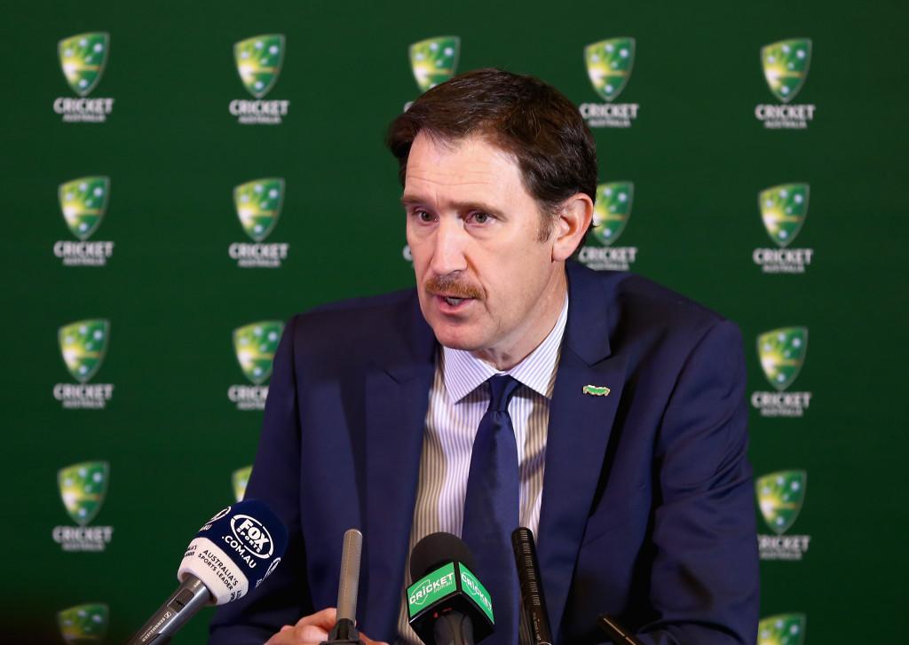 James Sutherland, CEO of Cricket Australia