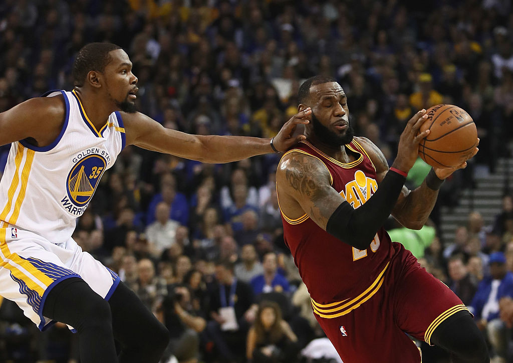 Cleveland vs. Golden State is rivalry the NBA needs right now