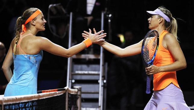 Sharapova lost to Mladenovic in the Stuttgart semis.