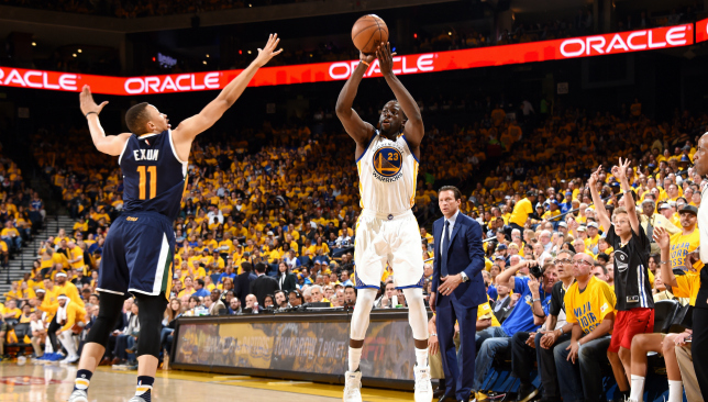 Durant, Warriors push Jazz to brink of elimination