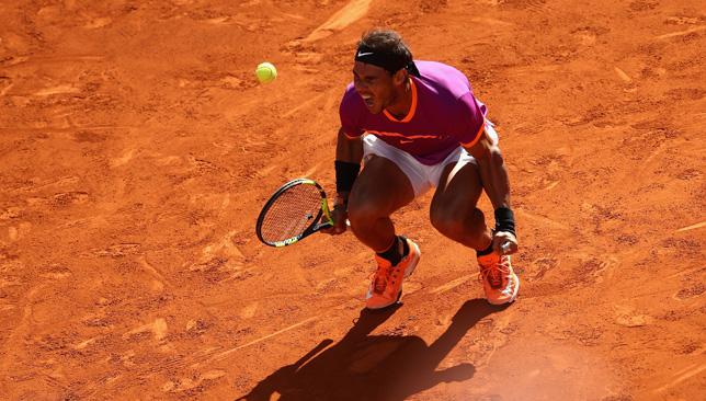Roaring back: Rafael Nadal.