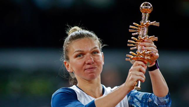 Reina de Madrid: Simona Halep.