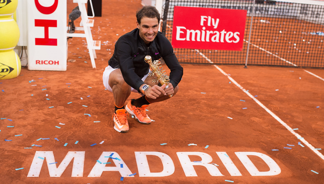Nadal on course for Madrid title
