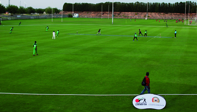The tournament's matches will be played on an astro-synthetic pitch.
