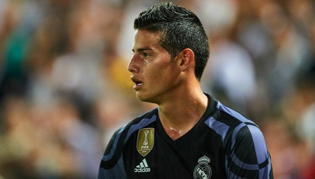Is Rodriguez's three-year Bernabeu spell about to come to an end?