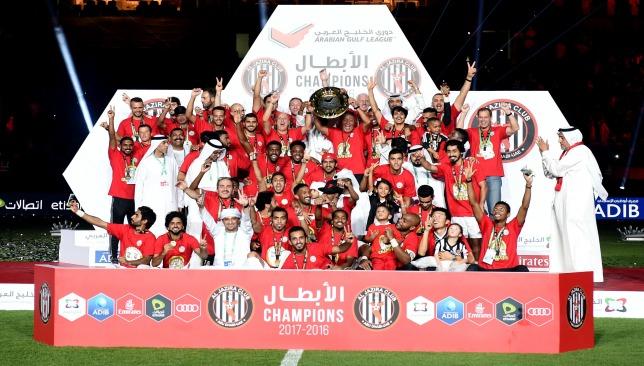 Al Jazira lifted a first AGL crown since 2010/11 last night