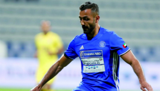 Up for the Cup: Al Nasr's Joan Oumari (Chris Whiteoak).