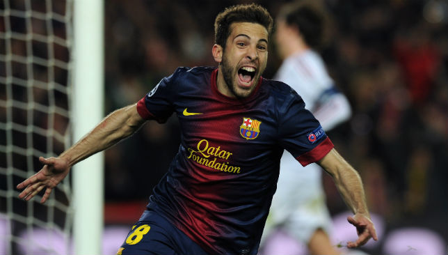Jordi Alba made it 4-0 for Barca.