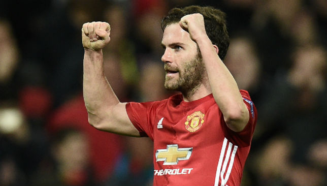 Juan Mata's goal secured a 1-0 win for Manchester United.