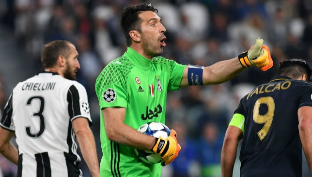 It was a rare off night for the Juve rearguard.
