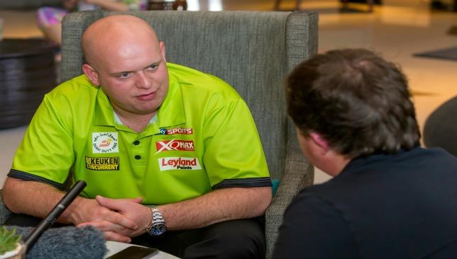 Van Gerwen talks to Sport360 ahead of today's tournament