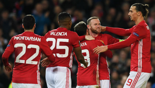 A 4-0 win at home against Feyenoord did the job for Manchester United.