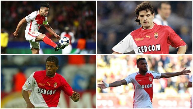 Past and present: Monaco stars.