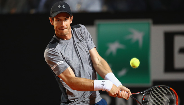 No momentum: For Murray heading into Paris.