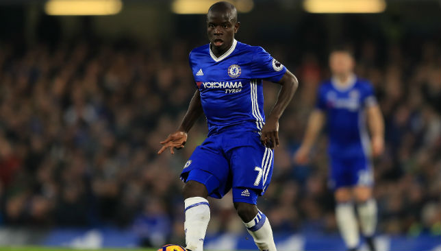 A player with an immense work-rate: N'Golo Kante