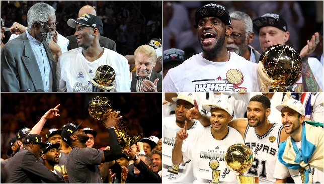 list nba champions