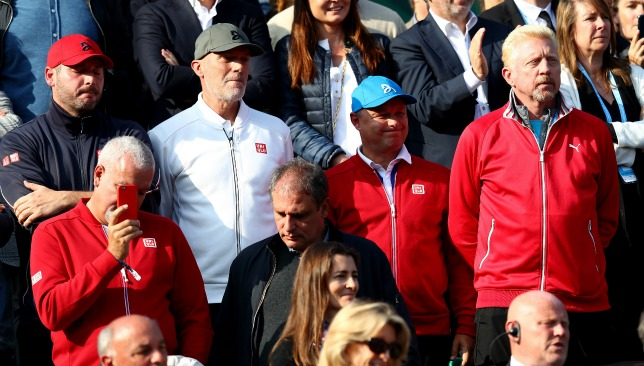 None of these people are still on Team Djokovic.