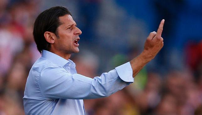 Enduring tough times: Osasuna manager Petar Vasiljević