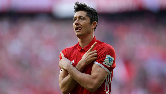 Robert Lewandowski currently leads the Golden Boot race with 30 goals.