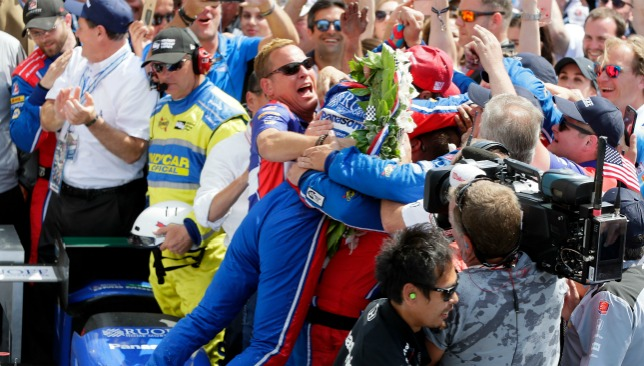 A first Indy 500 victory for Sato.