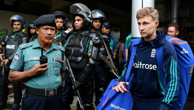 High levels of security looked after England in Bangladesh last year.