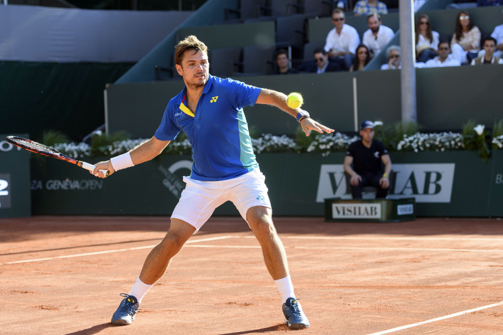 Stan is in the final in Geneva.