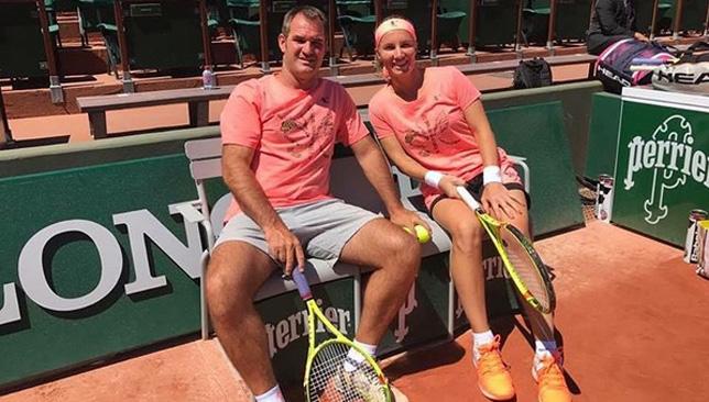Sveta and her coach Carlos Martinez (IG: @svetlanak27)