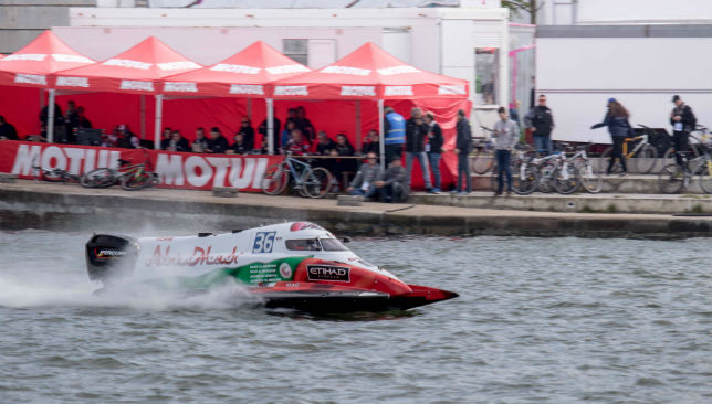 Team Abu Dhabi 36 ran strongly before a crash after 86 laps.