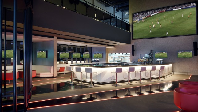 Watch all your favourite sports teams on one of Velocity's 38 screens
