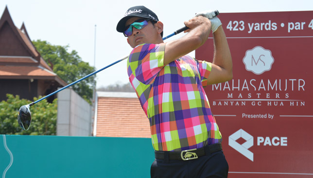 Home comforts: Venezuela's Wolmer Murillo, who is attached to this week's host venue Banyan Golf Club, is looking for another strong Thai leg of the MENA Tour.