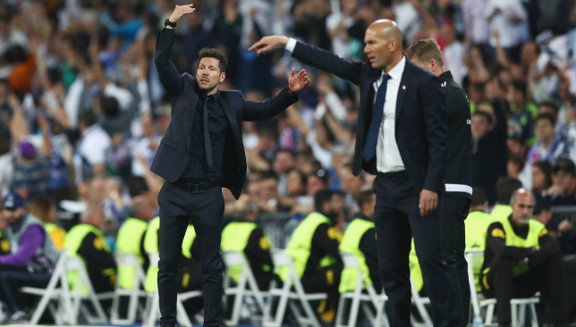 Real Madrid 3-0 Atletico Madrid: Manager microscope – Zinedine Zidane v  Diego Simeone - Sport360 News