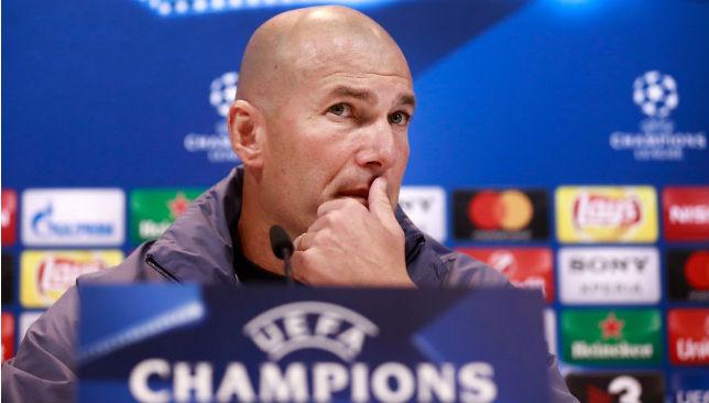 What formation will Zinedine Zidane adopt?